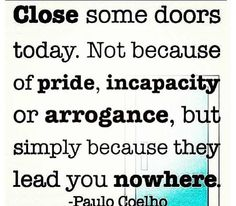 It leads you nowhere, some even made that clear.....