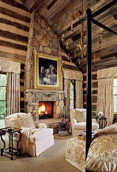 Rustic Cabin Bedroom Designs