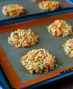 Baked Chipotle Sweet Potato and Zucchini Fritters - Averie Cooks