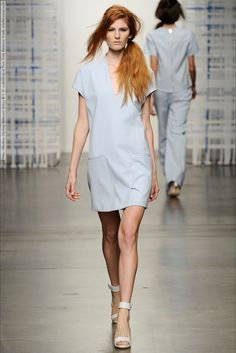 Tess Giberson (Spring-Summer 2015) R-T-W collection at New York Fashion Week  #AlexiaBellini #CrystalNoreiga #DelaneyCoyle #GalyaArkhypenko #GraceAnderson #GwenLoos #JessicaLuostarinren #KristinZakala #LeafZhang #LucievonAlten #LynnPalm #MichaelaBodenmiller #NewYork #QueenyvanderZande #RachelFinninger #TeresaDilger #TessGiberson #TessaBennenbroek #VictoriaAnderson #YuliaSerzhantova #ZuriTibby