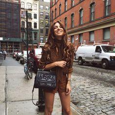 Negin Mirsalehi with this Dolce & Gabbana handbag Autumn Fashion Grunge, Winter Fashion, Fashion Mode, Fashion Outfits, Fashion News, Fall Outfits, Summer Outfits, Pretty Outfits, Dolce And Gabbana Handbags