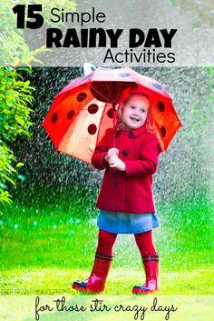 15 Simple Rainy Day