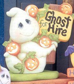 FALLANDHALLOWEEN Polymer Clay Halloween, Halloween Cakes, Halloween 2020, Halloween Stuff, Spooky Halloween, Happy Halloween, Halloween Decorations, Ceramic Bisque, Ceramic Clay