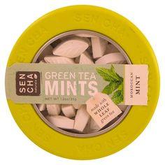 Sencha Naturals, Green Tea Mints, Moroccan Mint, 1.2 oz (35 g)