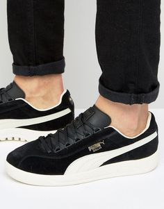 PUMA DALLAS OG SNEAKERS IN BLACK 36222108 - BLACK. #puma #shoes #