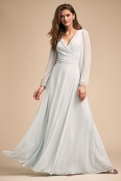 Heading to a formal event or black-tie wedding? Look no further than BHLDN for formal and semi-formal dresses to make a statement. Ice Dresses, Nova Dresses, Wedding Dress Accessories, Wedding Dresses For Sale, Temple Dress, Semi Formal Dresses, Elegant Dresses, Minimalist Wedding Dresses, Wedding Dress Sleeves