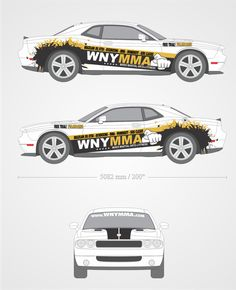 !Car Wrap Needed for BADASS Muscle Car. Mixed Martial Arts