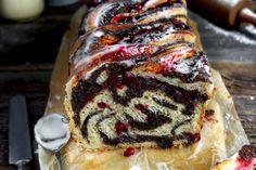 Schwarze Sesam-Tarte mit Kokos-Panna Cotta und Kiwi - Zungenzirkus Banoffee Pie, Kokos Panna Cotta, Kiwi, Bruschetta, Coco, Food And Drink, Butter, Cooking Recipes, Baking