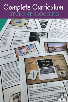 High school English teachers, are you ready to engage, inspire, and empower your student writers to share their voice with the world? This fourteen page print-and-go curriculum can have you implementing a student blogging project in your class as a stand-