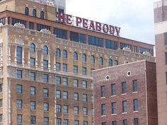 historic Peabody Hotel in Memphis, TN