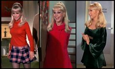 I Dream of Jeannie Photo: Barbara Eden as Jeannie Barbara Eden, I Dream Of Jeannie, 1960s Fashion, Vintage Fashion, Mod Fashion, Vintage Tv, Hollywood Fashion, Fashion Sewing, Fashion Styles