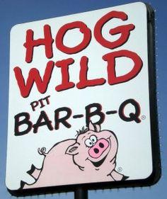 www.inpursuitofpork.com reviews Hog Wild Bar-B-Q in Salina, KS.