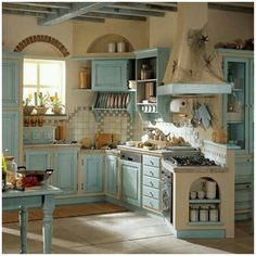 2084 Best Shabby Chic Kitchens images | Kitchen decor, Home ...