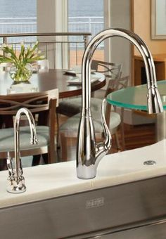 Franke LAUNCHES NEW FAUCET SUITE! Make a Statement with Transitional Style www.frankeksd.com