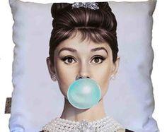 Almofada Audrey Hepburn 5- Cinema