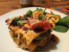 Moolicious Kitchen: Tortilla Lasagna Lasagna, Fries, Tacos, Ethnic Recipes, Kitchen, Food, Cooking, Kitchens, Essen