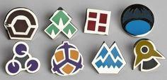 Medallas pokemon de Sinnoh