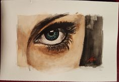 Acuarela (Ojos)