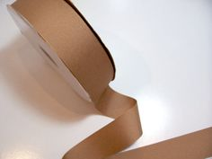 Offray Camel Grosgrain Ribbon 1 1/2 inches wide x 50 yards, Light Brown Ribbon #Offray