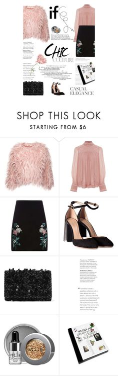 """""""Untitled #2531"""" by amimcqueen ❤ liked on Polyvore featuring Isabel Marant, Dorothy Perkins, Chloé, Oscar de la Renta, Stila, Marc and GESTALTEN"""