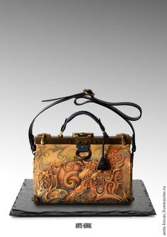 fcc4a440f4cc Женские сумки ручной работы. Ярмарка Мастеров - ручная работа. Купить  Саквояж 30…