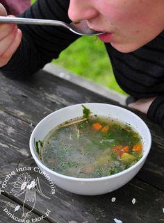 Ground elder soup  Zupa z podagrycznika