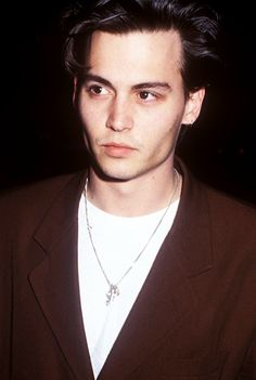 """ Johnny Depp at a Screening of 21 Jump Street on October 4th 1989 """