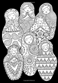 The Girls Fabulous Colouring Doodle