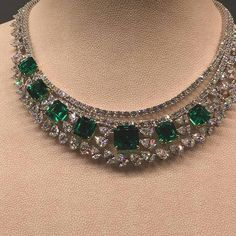 Online shopping for Luxury Jewelry from a great selection at Clothing, Shoes & Jewelry Store. Emerald Jewelry, High Jewelry, Luxury Jewelry, Stone Jewelry, Gold Jewelry, Jewelry Necklaces, Jewellery, Fantasy Jewelry, Necklace Designs