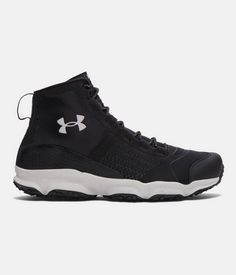 71afdc8dd54 Under Armour UA SpeedFit Hike Mid Tactical Trail Boots Men Size 12 Black  1257447  fashion