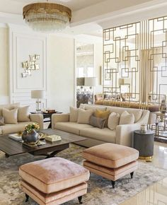 Learn how to make your living room look and feel mo&; Learn how to make your living room look and feel mo&; Kariane Kub III living room design Learn how […] room interior Living Room Interior, Home Living Room, Interior Design Living Room, Classic Living Room Furniture, Living Room Ottoman Ideas, Interior Livingroom, Interior Modern, Kitchen Interior, Elegant Living Room