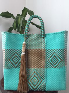 """New Cheap Bags. The location where building and construction meets style, beaded crochet is the act of using beads to decorate crocheted products. """"Crochet"""" is derived fro Diy And Crafts Sewing, Crafts To Sell, Turquoise, Teal, Bath And Beyond Coupon, Craft Wedding, Bead Crochet, Crafts For Teens, Craft Videos"""
