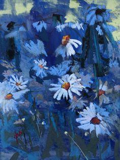 So Blue - Original Fine Art By Ginny Stocker