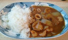 seafood curry rice.