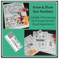 Here's a game to give young students practice reading and writing braille numbers.