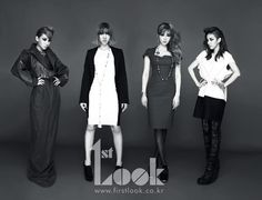 Bom's dress and styling (2nd from right)