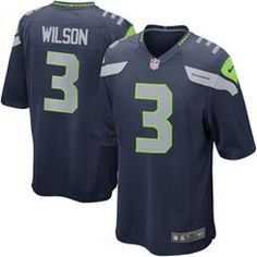 Seahawks Jerseyes as well as other football teams are owned by supportive fans all over the country.  Russell Wilson, the Quarterback of the Seattle Seahawks has become popular based on how well he has played.  Russell Wilson has been on several commercials advertising products. Wilson has the ideal football player image which also attracts consumers.    -Daniela Montiel