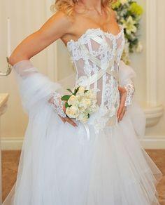 Robe de mariée Serena Max Cahoul T36/38 et access - Gard