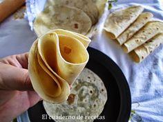 Tortillas de harina | Cocinar en casa es facilisimo.com