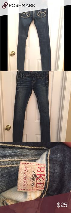 Women's BKE size 24 jeans. Gently worn, look like new, women's BKE brand jeans.  Size 24.  Love the fit just have too many jeans so time to clean out the closet! BKE Jeans Straight Leg