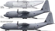The stretched C-130J-30 is 15 feet longer than its C-130J counterpart, with most of the added fuselage length placed forward of the wing. C-130J-30s can carry 33% more pallets of equipment or supplies, 39% more combat troops, 31% more paratroopers, or 44% more aeromedical evacuation litters than previous unstretched Hercules versions like the IqAF's C-130Es.