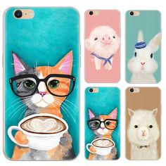 New Style Warm Color Animals Series Phone Case For Oppo A39/A57 5.2-inch Painted TPU Soft Case