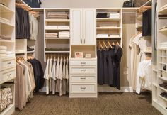 closet organization ideas | Walk In Closet Organizer Ideas