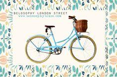 Belosophy London street. Bicicleta de paseo estilo vintage. Bicycles. www.belosophybikes.com