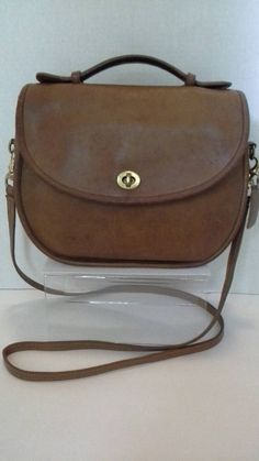 87e0f4098b22 Coach Court Plaza Bag Tan Made in USA Rare Coach by BeebleWeezy on Etsy Vintage  Coach