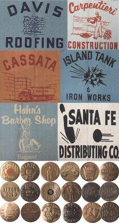 vintage american workwear
