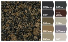Paint colors with Baltic Brown granite