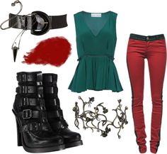 """Halloween 2012- Poison Ivy"" by fightsoftly on Polyvore"