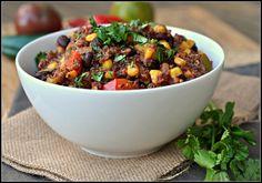 4th Annual Chili Contest: Entry #1 - Quinoa and Black Bean Veggie Chili