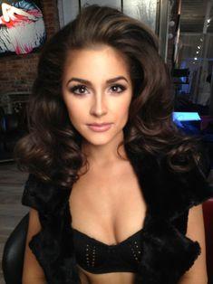 olivia culpo- stunning makeup look. Mad cotouring skills. .